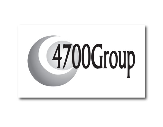 Logo design for 4700Group, an accounting firm for lawyers in Seattle, WA
