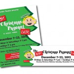 "Poster & Banner for ""The Best Christmas Pageant Ever"", Port Gamble Theater, Port Gamble, WA"