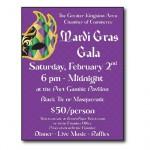 Poster for Kingston, WA Chamber of Commerce fundraiser
