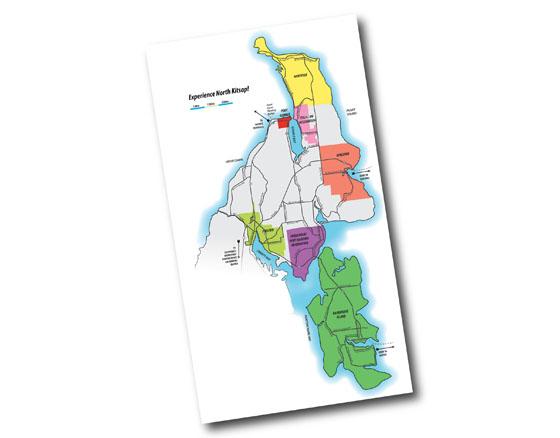 Experience North Kitsap Map