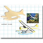 Conceptual design for a float plane cookie cutter, Seattle, WA