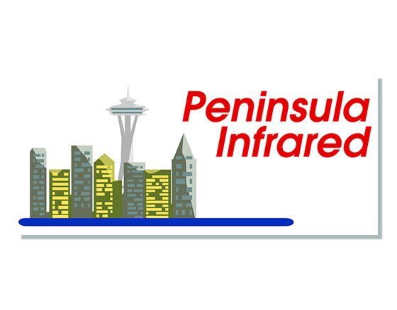 Logo design for Peninsula Infrared
