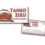 Marketing materials for Tango Zulu Imports, Port Gamble, WA