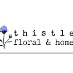 Logo design Thistle Floral & Home in Kingston, WA
