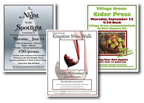 Kingston Chamber of Commerce Marketing Materials