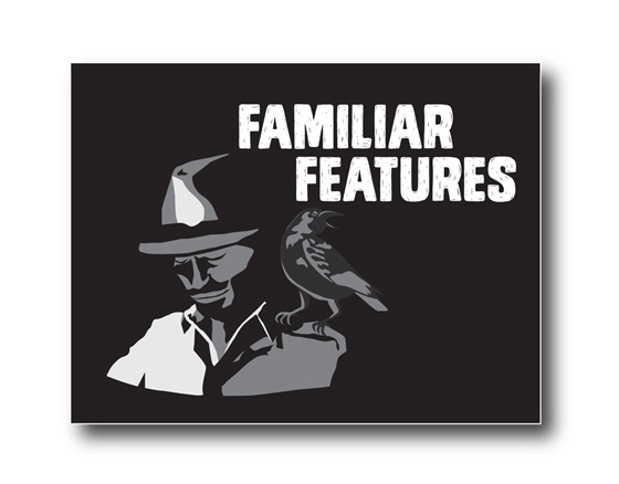 Logo design for Familiar Features (film company), Kingston, WA